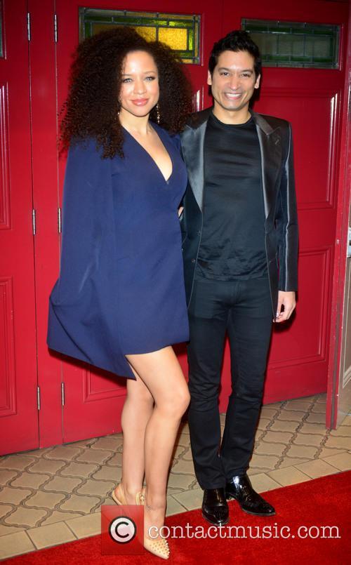 Natalie Gumede and Raj Ghatak