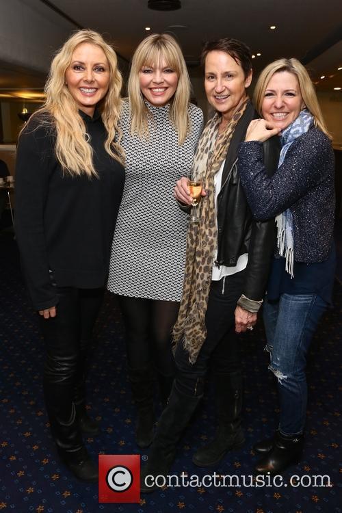 Carol Vorderman, Kate Thornton and Carol Mcgiffin