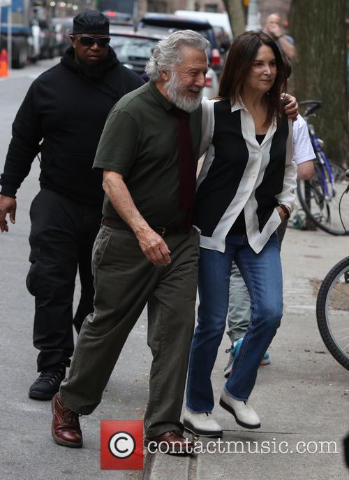 Dustin Hoffman and Lisa Hoffman 6