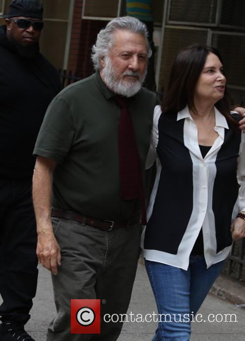 Dustin Hoffman and Lisa Hoffman 8