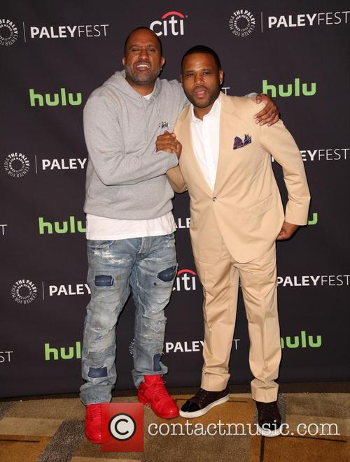 Kenya Barris and Anthony Anderson 1