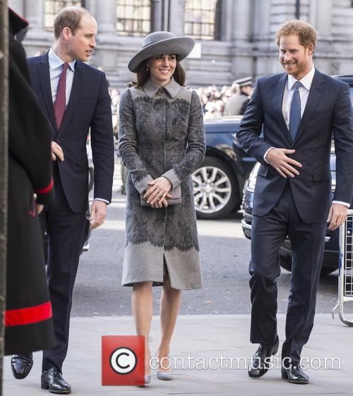 Duke Of Cambridge, Duchess Of Cambridge and Prince Harry 1