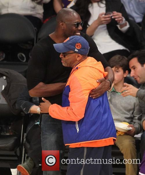 Spike Lee and Terrell Owens 8