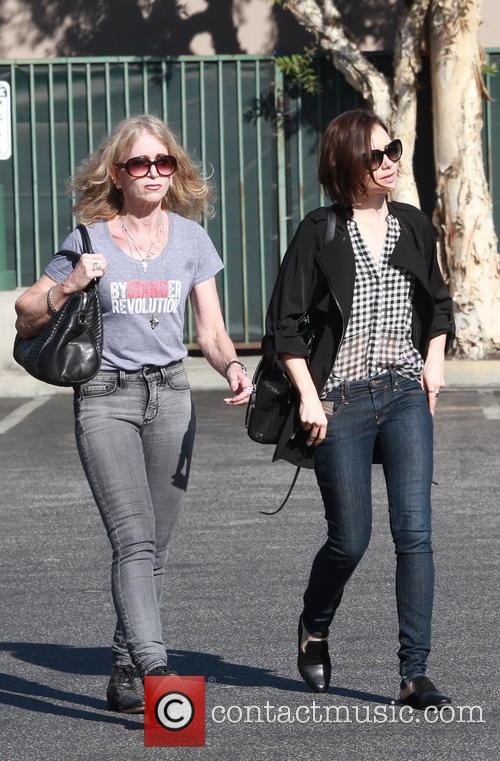 Lily Collins and Jill Tavelman 4