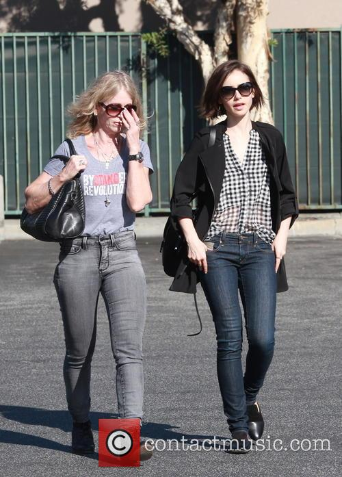 Lily Collins and Jill Tavelman 6