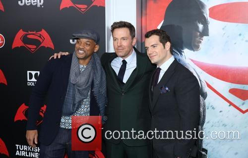 Will Smith, Ben Affleck and Henry Cavill 5