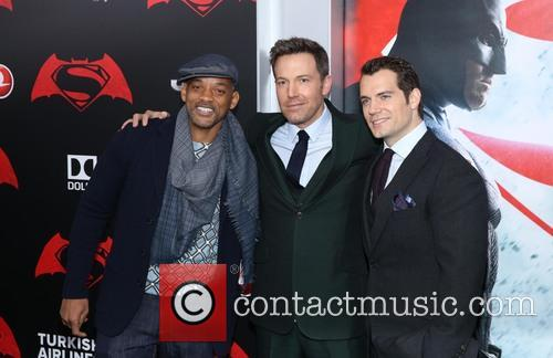 Will Smith, Ben Affleck and Henry Cavill 6