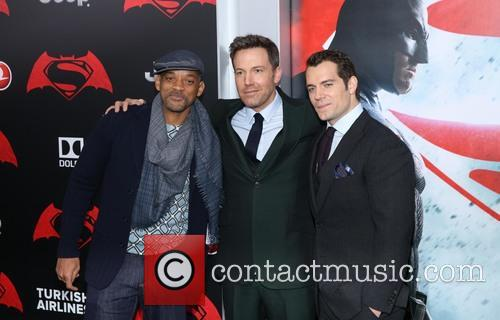 Will Smith, Ben Affleck and Henry Cavill 7