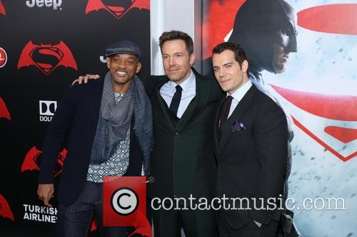 Will Smith, Ben Affleck and Henry Cavill 8