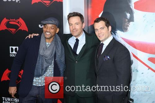 Will Smith, Ben Affleck and Henry Cavill 9