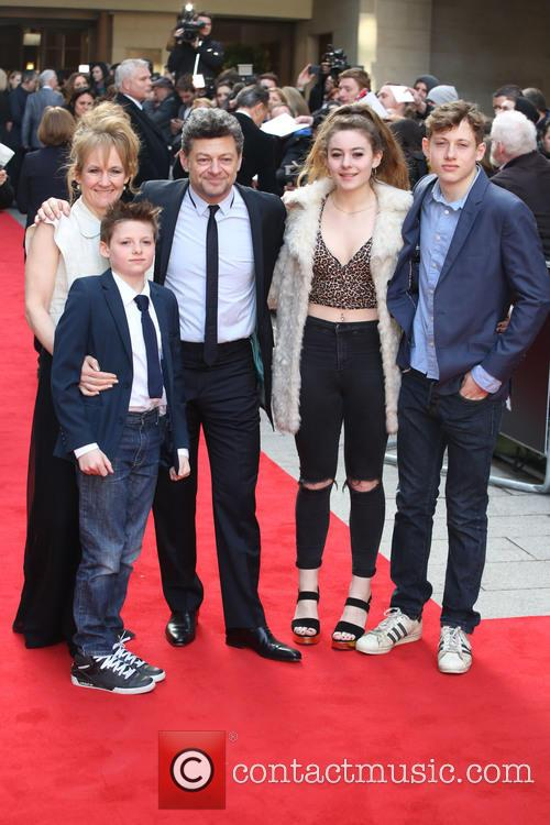 Lorraine Ashbourne, Andy Serkis and Children 1