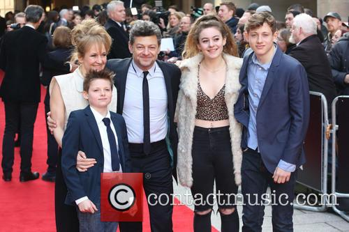 Lorraine Ashbourne, Andy Serkis and Children 2