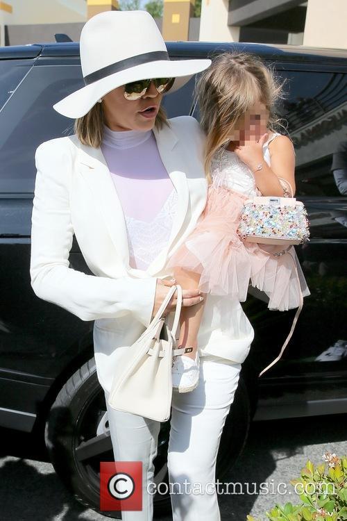 Khloe Kardashian and Penelope Disick