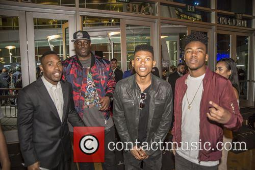 Tyrin Turner, Bryshere Y. Gray and Lil Caine 4