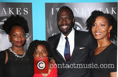Rick Famuyiwa, Glenita Mosley and Daughters