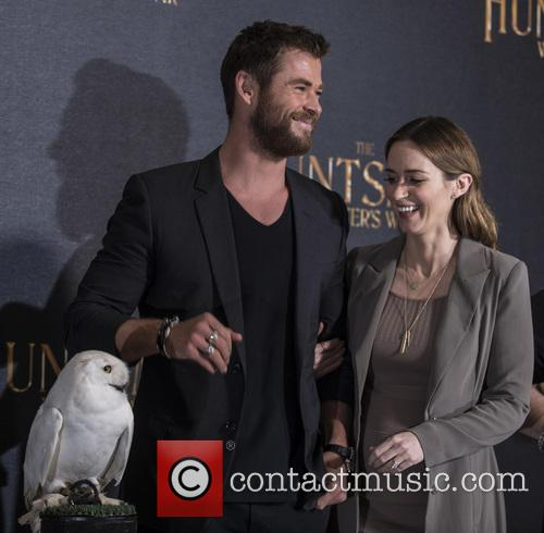 Chris Hemsworth and Emily Blunt 2