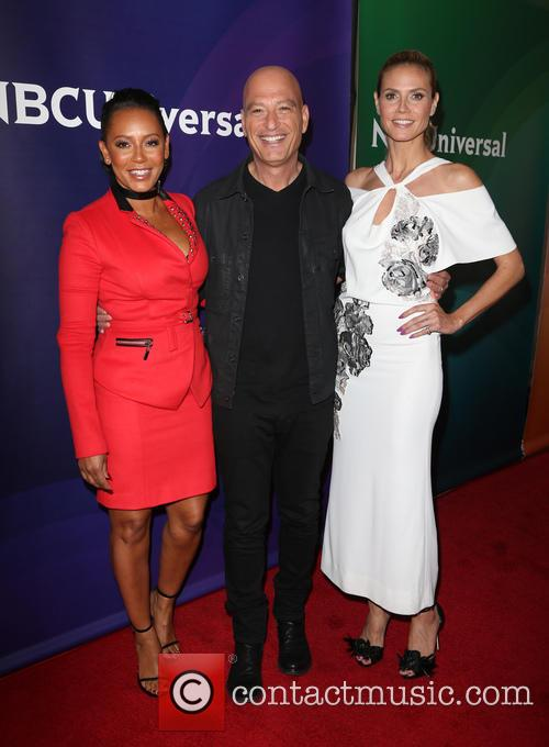 Mel B, Howie Mandel and Heidi Klum 3