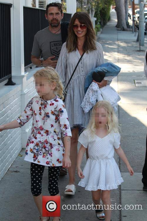 Rebecca Gayheart, Georgia Dane, Billie Beatrice Dane and Dougray Scott
