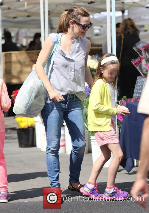 Jennifer Garner and Seraphina Affleck 4