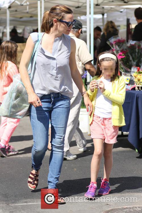 Jennifer Garner and Seraphina Affleck 6
