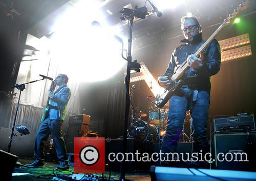 Weezer, Rivers Cuomo and Scott Shriner 3