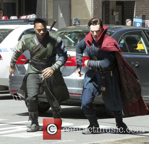 Chiwetel Ejiofor and Benedict Cumberbatch 1