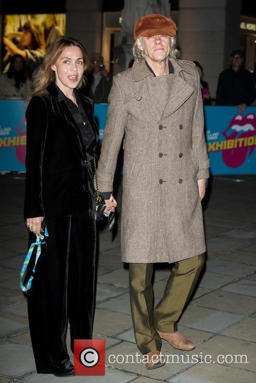 Bob Geldof and Jeanne Marine 5