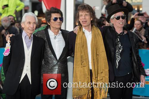Rolling Stones, Mick Jagger, Keith Richards, Ronnie Wood and Charlie Watts 4