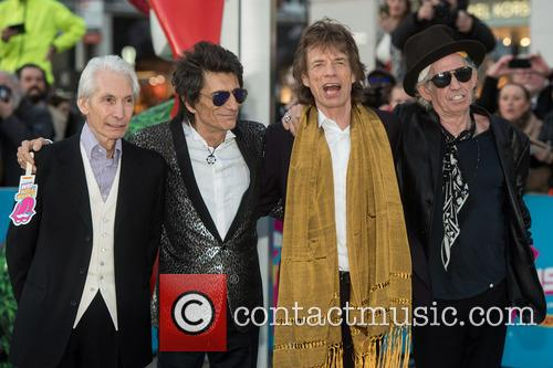 Rolling Stones, Mick Jagger, Keith Richards, Ronnie Wood and Charlie Watts 5