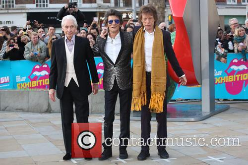 Rolling Stones, Ronnie Wood, Mick Jagger and Charlie Watts 7