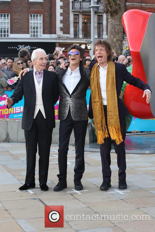 Rolling Stones, Ronnie Wood, Mick Jagger and Charlie Watts 8