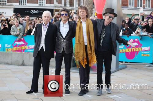 Rolling Stones, Ronnie Wood, Mick Jagger and Charlie Watts 10
