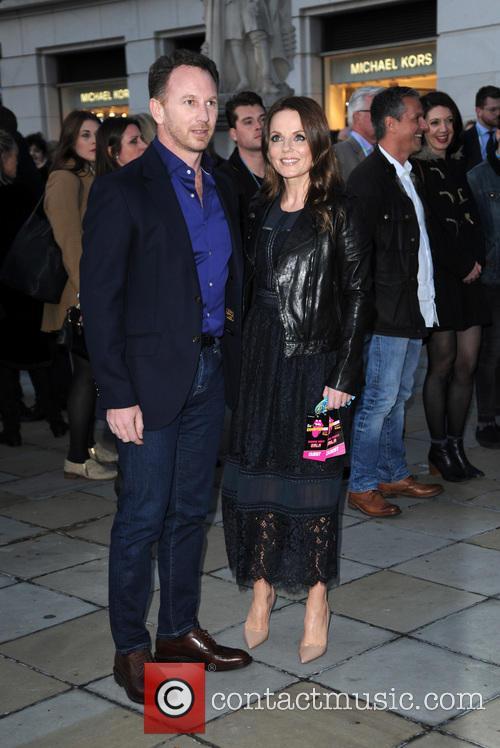 Christian Horner and Geri Horner 1