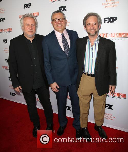 Larry Karaszewski, Jeffrey Toobin and Scott Alexander 2