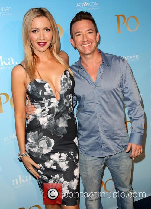 Lindsay Bronson and David Faustino 2