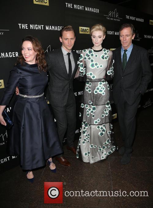 Olivia Coleman, Tom Hiddleston, Elizabeth Debicki and Hugh Laurie 1