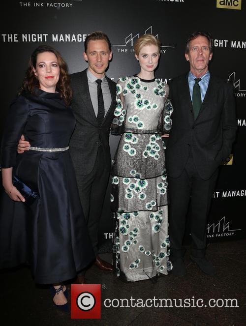 Olivia Coleman, Tom Hiddleston, Elizabeth Debicki and Hugh Laurie 5