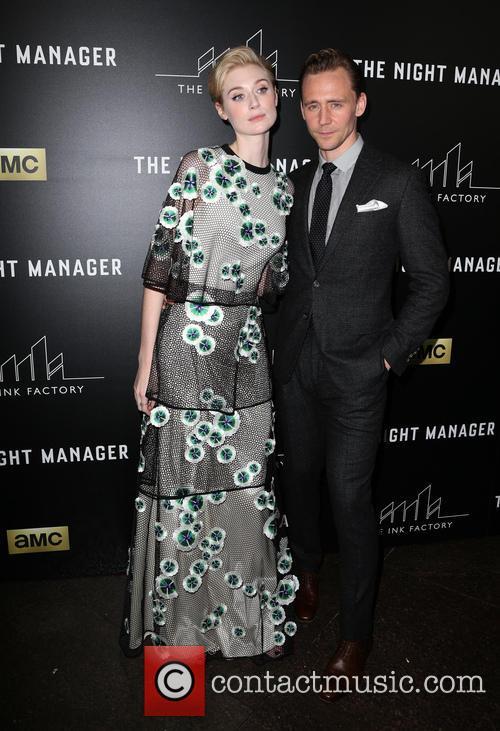 Elizabeth Debicki and Tom Hiddleston