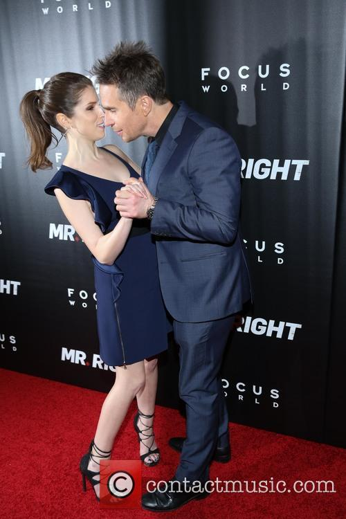 Anna Kendrick and Sam Rockwell