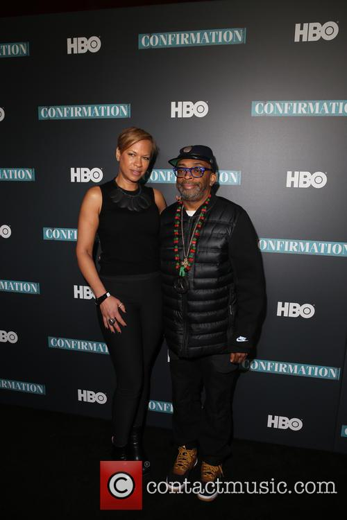 Tonya Lewis Lee and Spike Lee 2