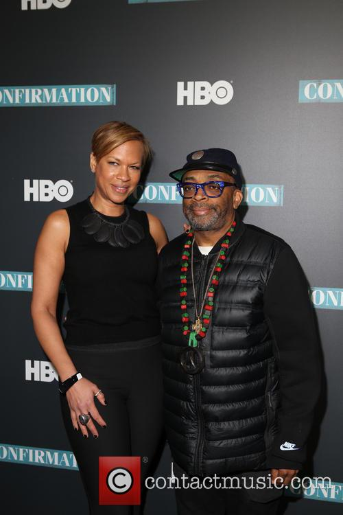 Tonya Lewis Lee and Spike Lee 3