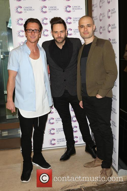 Ritchie Neville, Scott Robinson, Sean Conlon, Five and 5ive