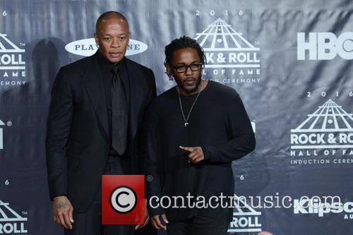 Dr. Dre and Kendrick Lamar 5