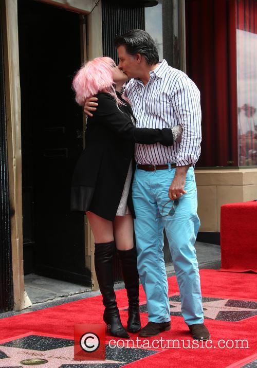 Cyndi Lauper and David Thornton 1