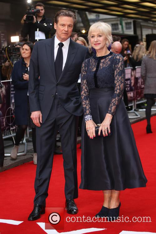 Colin Firth and Dame Helen Mirren 6