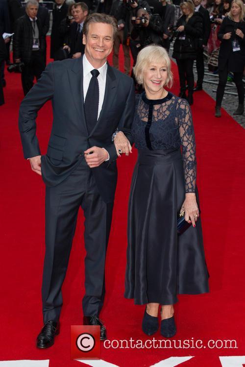 Colin Firth and Helen Mirren 4