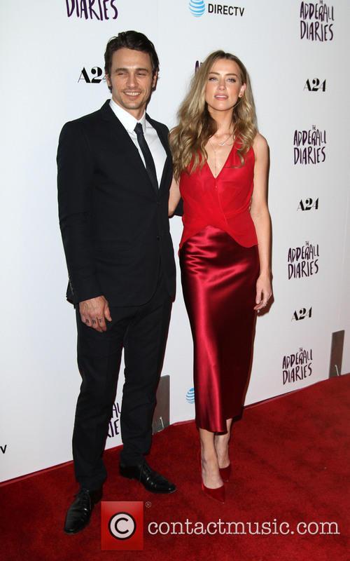 James Franco and Amber Heard 2