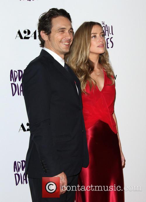 James Franco and Amber Heard 5