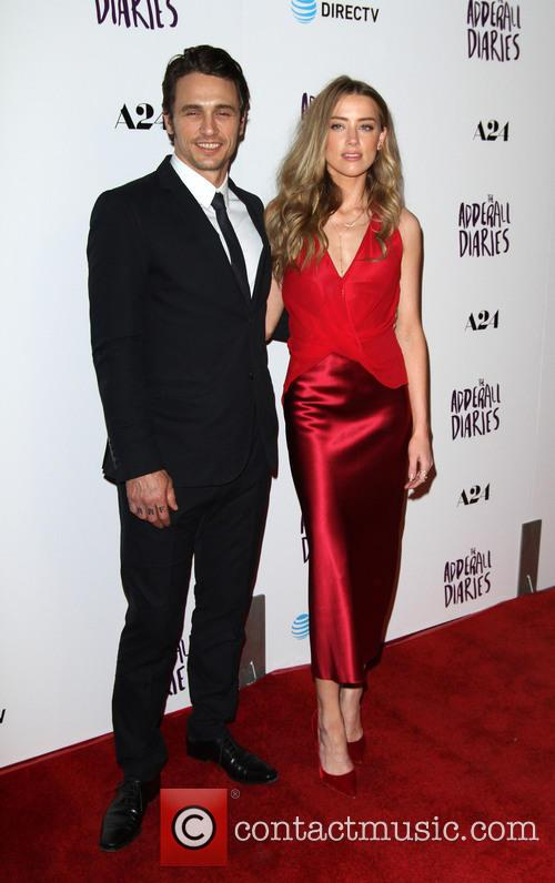 James Franco and Amber Heard 7