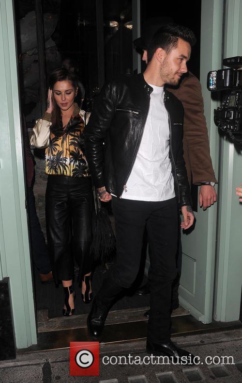 Cheryl Fernandez-versini and Liam Payne